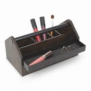 Caisse Bois Rangement : boite rangement maquillage en bois caisse a outils umbra toto box 290240 048 ~ Teatrodelosmanantiales.com Idées de Décoration