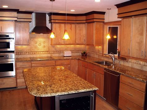 Kitchen Color Ideas With Dark Cabinets - santa cecilia light granite to create glamour and modern kitchen homestylediary com
