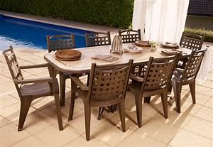Achat Salon De Jardin : table de jardin grosfillex pas cher ~ Dailycaller-alerts.com Idées de Décoration