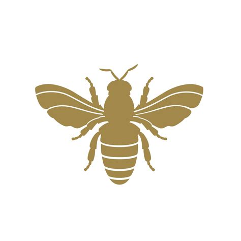bee decal gold bee napoleonic bee decal set bee decor