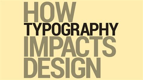 graphic design tutorial typography and design youtube