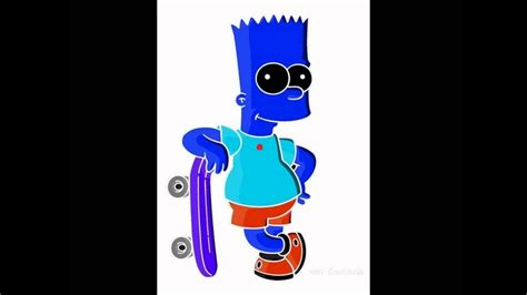 bart simpson illusion youtube
