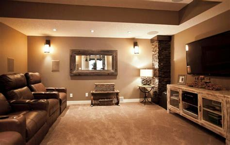 ideas for entertainment basement ideas with entertainment area home design and Basement