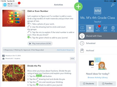 seesaw  learning journal review  teachers common