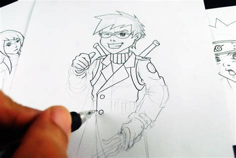 learn  draw manga  develop   style  steps