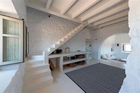 prefab kitchen island restored 17th century house in greece with modern