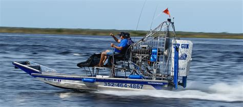 Airboat Gun by Topgun Airboat Rides 169 All Rights Reserved