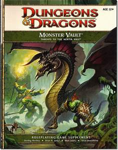 Dungeons  U0026 Dragons  U0026quot Monster Vault  Threats To The Nentir
