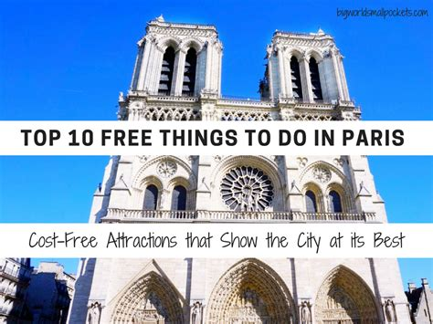 Top 10 Free Things To Do In Paris Costfree Attractions