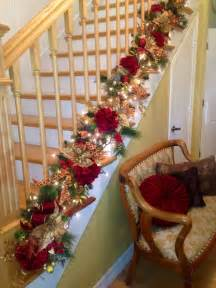best 25 christmas stairs decorations ideas on pinterest easy christmas decorations christmas