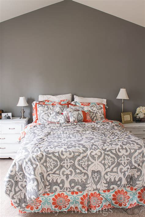 Bedroom Paint Ideas - painting an accent wall marty 39 s musings