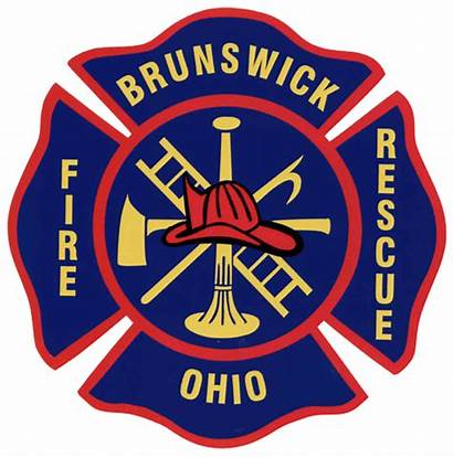 Fire Brunswick Firefighter Ohio Rescue Patch Paramedic