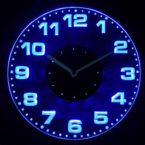cnc2007 g modern numerals illuminated wall neon
