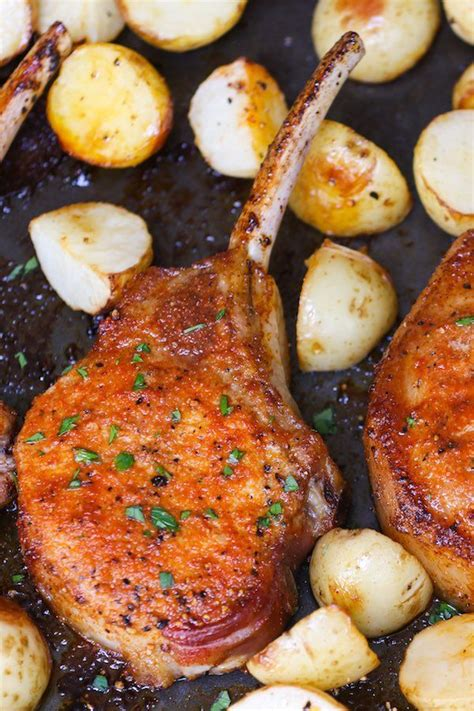 I have been making this pork chop recipe for many years and for many years my pork chops. This photo shows how long to cook pork chops in the oven ...
