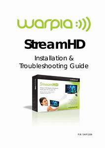 Warpia Swp120a Installation Manual  U0026 Troubleshooting Guide