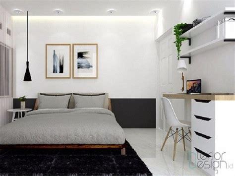 konsep desain kamar tidur minimalis modern  ide cemerlang