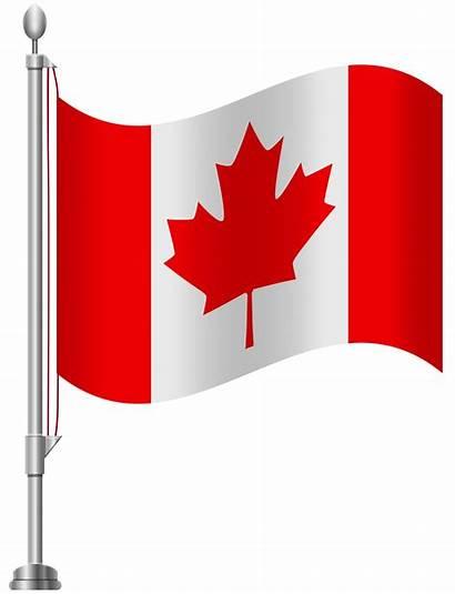 Flag Canada Clip Clipart Canadian Flags Transparent