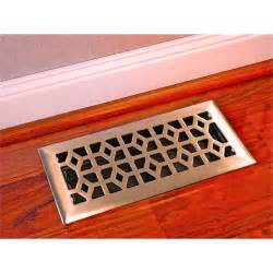 Cast Iron Floor Registers by Accord 10 X 30cm Chrome Plated Steel Marquis Floor Vent