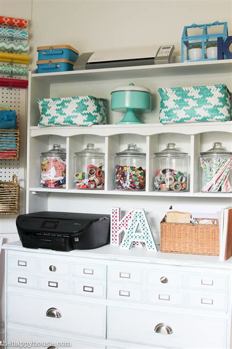 desk for your room how to organize a craft room work space the happy housie