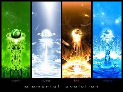 Elements Four Elemental Evolution Wallpapers Element Cool