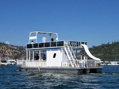 Used Pontoon Boats With Upper Deck And Slide For Sale by Upper Deck Boats On Pinterest Pontoon Boats Pontoons