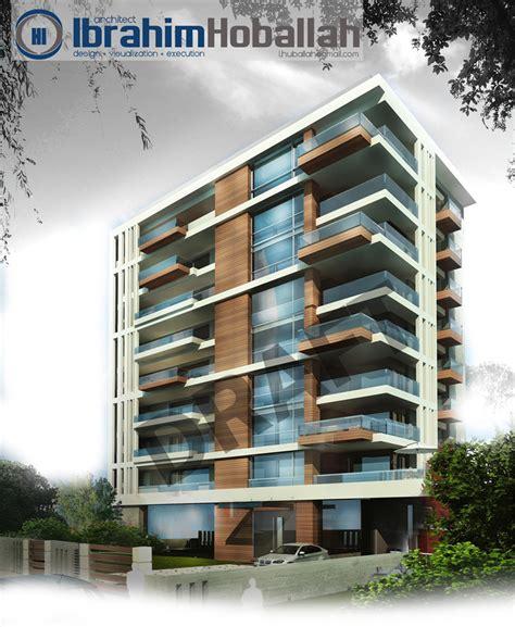 building design hoballah building two buildings visual architecture