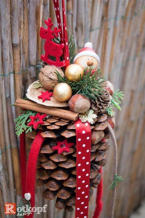 basteln mit tannenzapfen weihnachten bildergebnis f 252 r basteln mit mandarinenkisten basteln