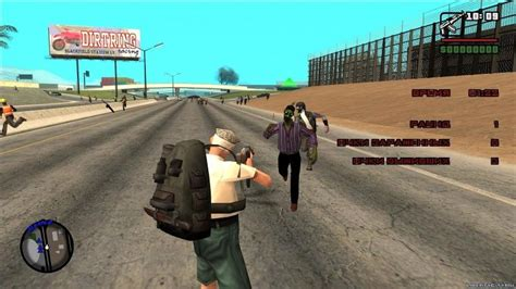 gta andreas zombie san sa game gtasa modification completely changes which ashslow pc