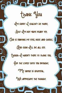 Simple Thank You Quotes For Baby Shower Gift Verses ...