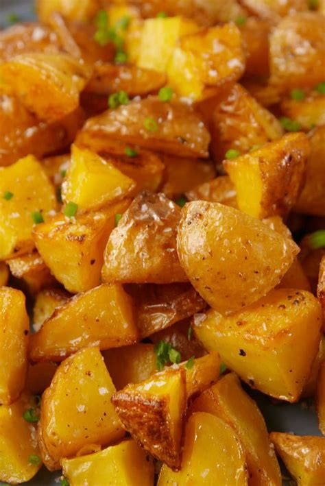 unique side dish recipes  potatoes cut side