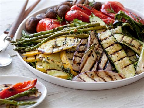 grilled vegetables recipe giada de laurentiis food network
