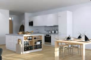 apartment kitchen storage ideas scandinavian studio apartment kitchen with open plan dining and storage island
