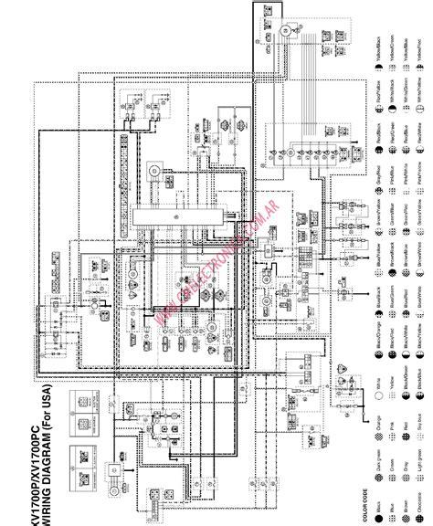 Xv1700 Wiring Diagram diagrama yamaha xv1700