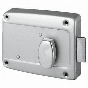 serrure 6903 en applique pour porte de garage metalux With porte de garage coulissante avec serrure en applique