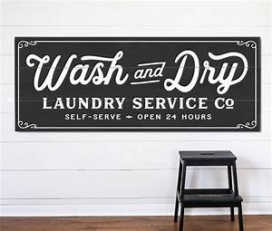 wash and dry laundry service co sign laundry service With laundry letters sign
