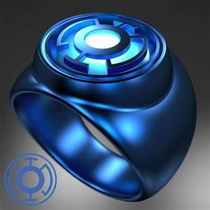 BLUE LANTERN RING by Drageus on DeviantArt