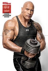 Dwayne Johnson Muscles Fitness