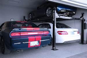 Garage Größe Für 2 Autos : how do i know if a car lift is right for my garage ~ Jslefanu.com Haus und Dekorationen