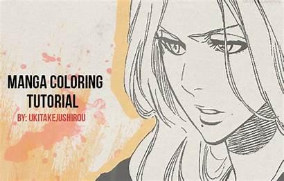 Coloring Manga Tutorial Mar