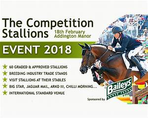 Tickets Now Available for the Competition Stallions Event 2018