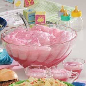 Pink Punch For Baby Shower - rock a bye baby punch recipe baby shower punch