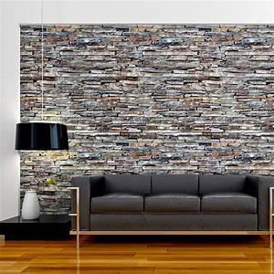Papier Peint Intissé 4 Murs : id e papier peint imitation pierre intiss papier peint ~ Dailycaller-alerts.com Idées de Décoration