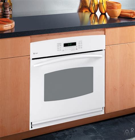 ge ptsmss  single electric wall oven   cu ft  clean convection oven hidden