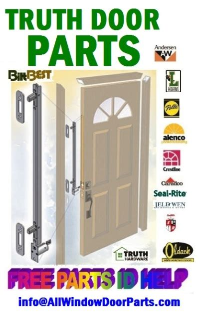 truth sentry multipoint door locking systems multi point lock repair parts kits truth window