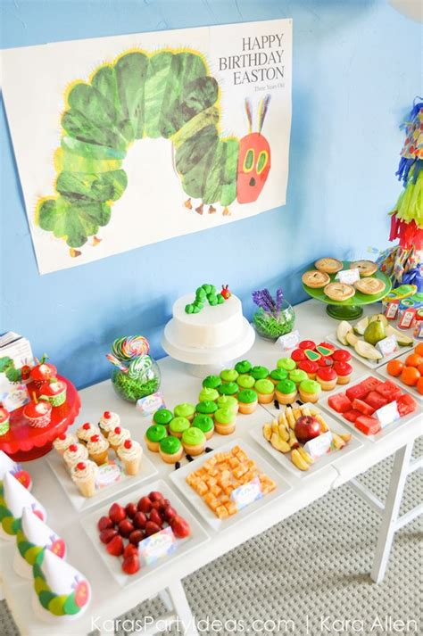 Kara's Party Ideas The Very Hungry Caterpillar 3rd