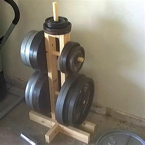 diy weight plate tree    diy home gym home gym garage home  gym