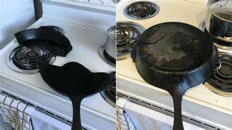 iron cast cookware cracked stove electric common dangerous avoid problem plates heat