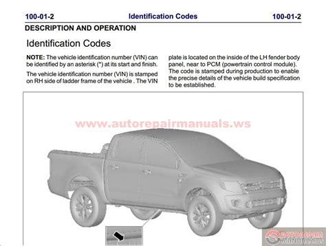 car service manuals pdf 2010 ford ranger auto manual keygen autorepairmanuals ws ford ranger 2011 50my workshop repair manual