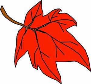 Orange Leaf Clip Art at Clker.com - vector clip art online ...