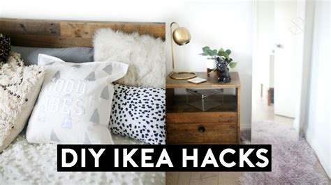 diy ikea hacks diy room decor  easy cheap youtube